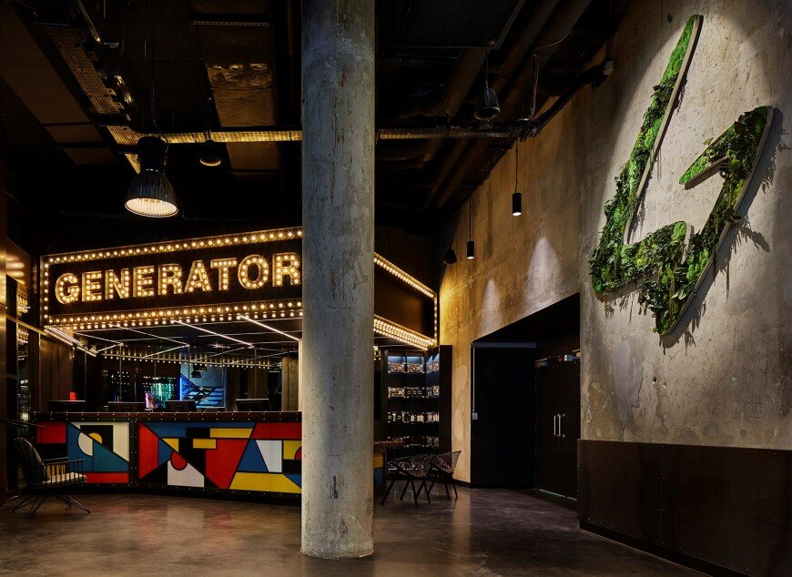 Generator Hostel Paris was conducted by Toronto-based DesignAgency Studio (1)