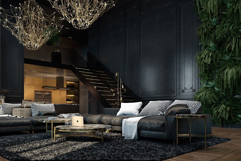 Luxury Interiors luxury interiors with a charming aesthetics in paris