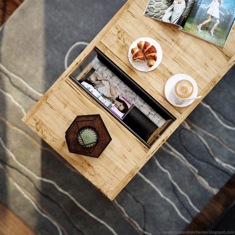 Monochromatic interior design by Anastasia Andreichenko  (7) - A designer of Russia has made these gorgeous interior