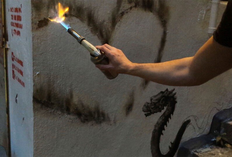New Paintings by Spanish street artist Pejac Tokyo, Seoul and Hong Kong (10)