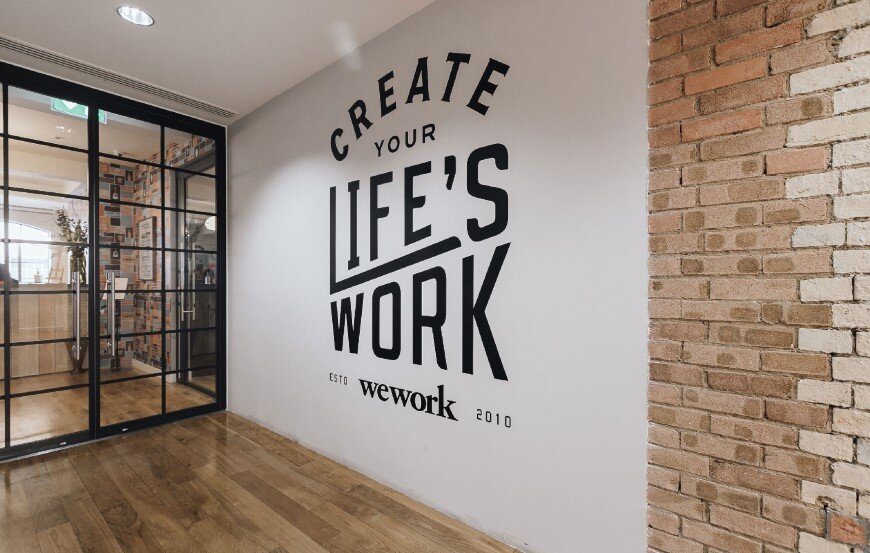 New coworking offices WeWork in London - by Oktra  (1)