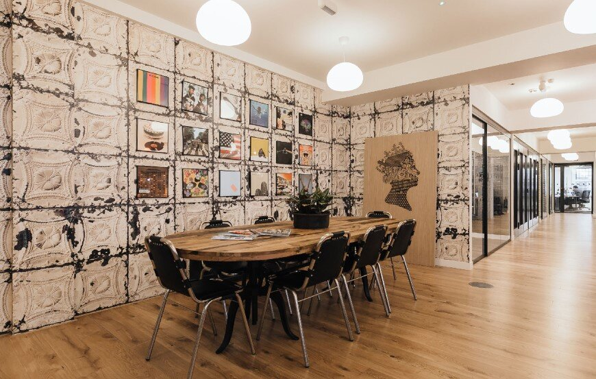 New coworking offices WeWork in London - by Oktra  (2)