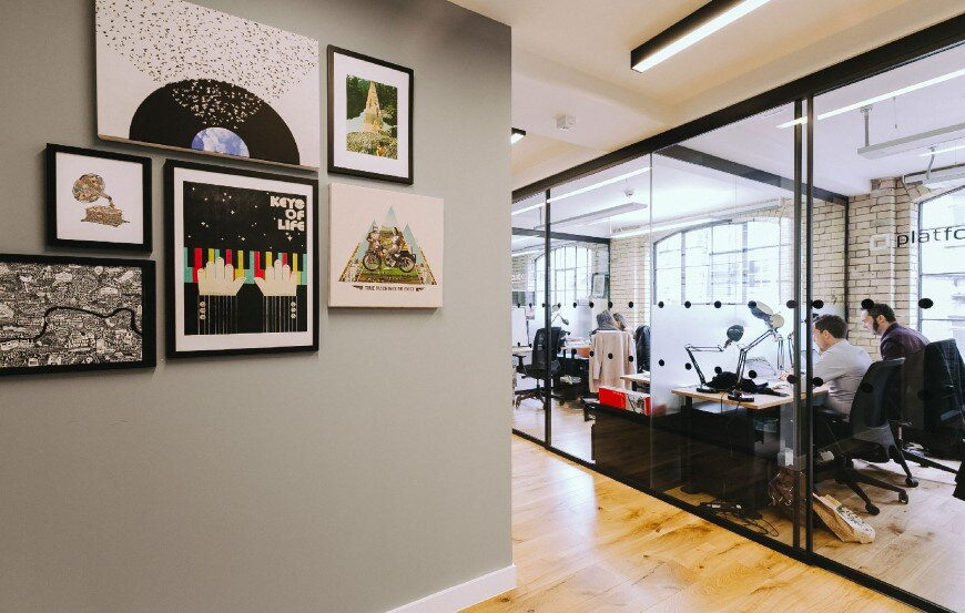 New coworking offices WeWork in London - by Oktra  (4)
