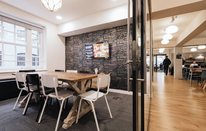 New coworking offices WeWork in London - by Oktra  (8)