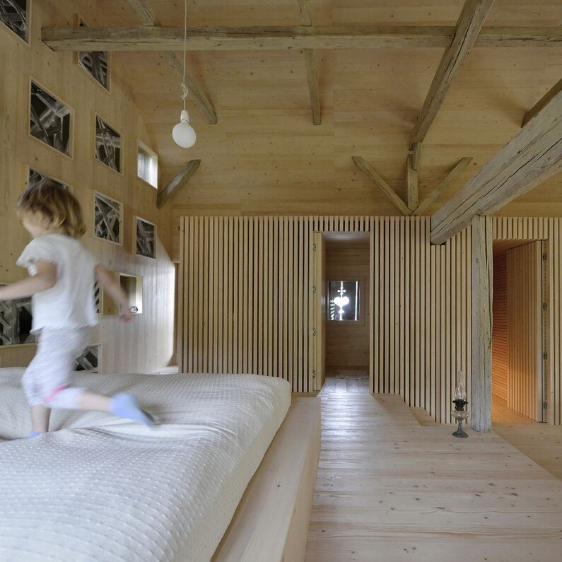 Old Barn revitalized by converting into a loft apartment (10)