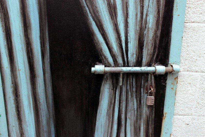 Paintings by Spanish street artist Pejac Tokyo, Seoul and Hong Kong (6)