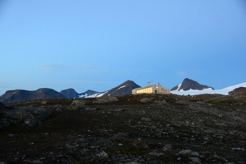 Rabot Cabin - close to glaciers in northern Norway (20)