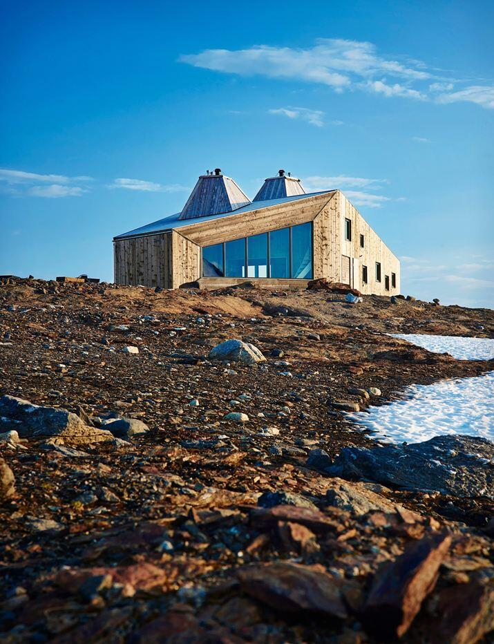 Rabot Tourist Cabin - close to glaciers in northern Norway (7)
