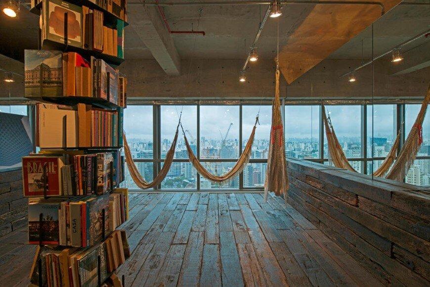 Reading Room in São Paulo - Candida Tabet Arquitetura (1)