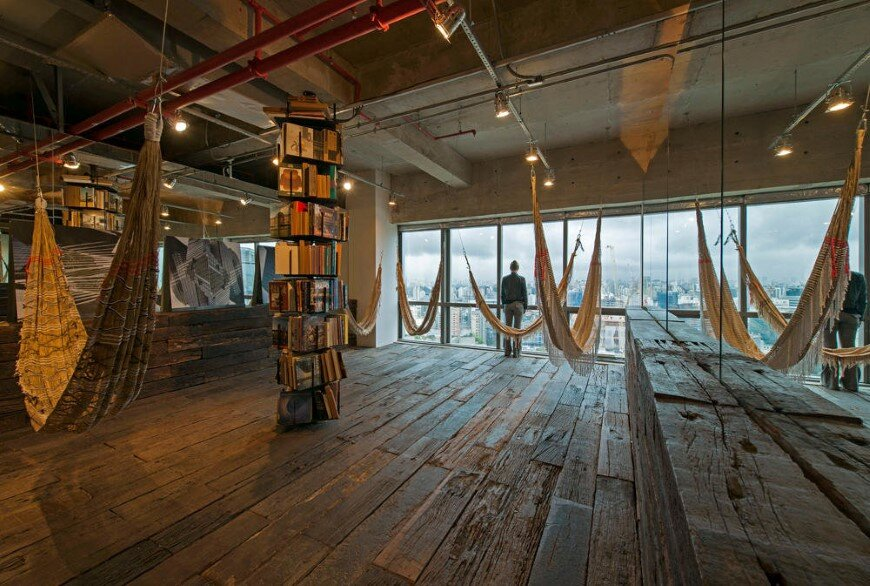 Reading room in s o paulo candida tabet arquitetura - Residence secondaire candida tabet architecture ...
