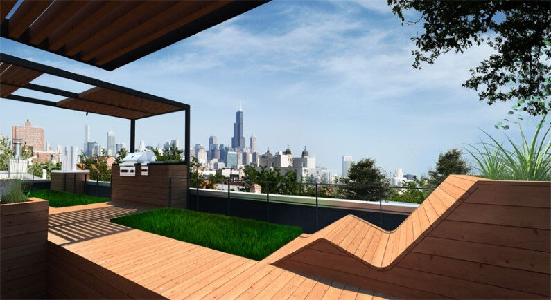 Rooftop retreat designed to showcase the Chicago skyline (4)