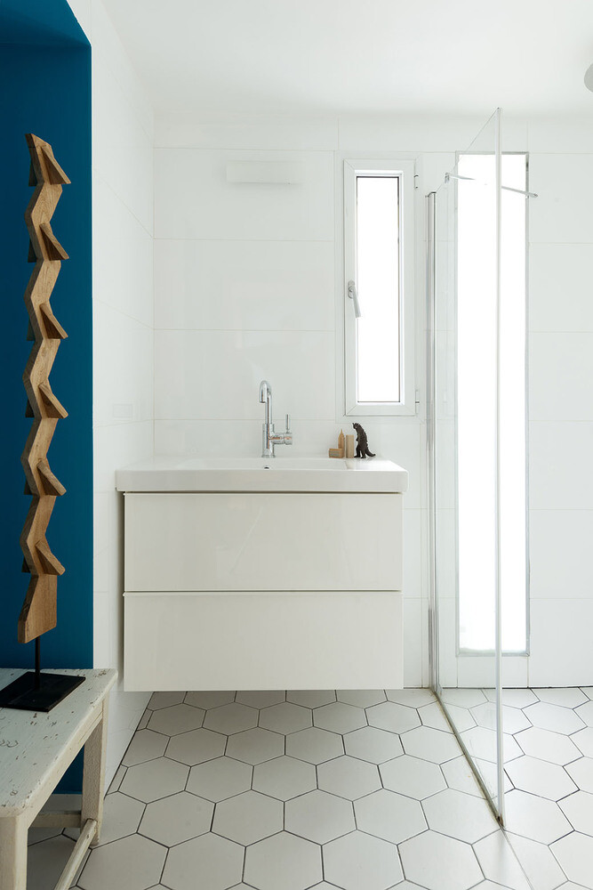 50 sqm Garden Apartment in Jaffa - Itai Palti Studio (12)