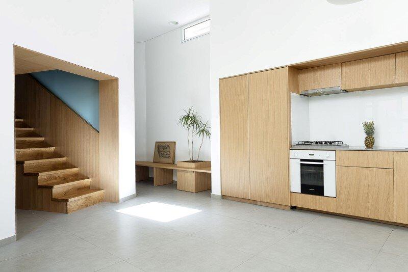 50 sqm Garden Apartment in Jaffa - Itai Palti Studio (3)