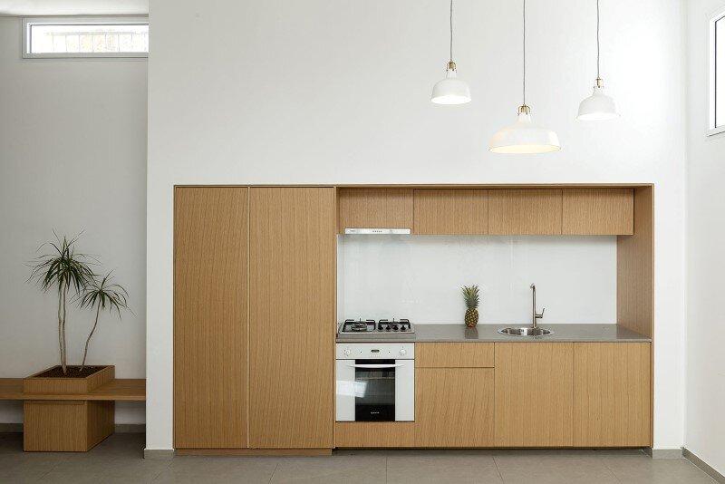 50 sqm Garden Apartment in Jaffa - Itai Palti Studio (4)