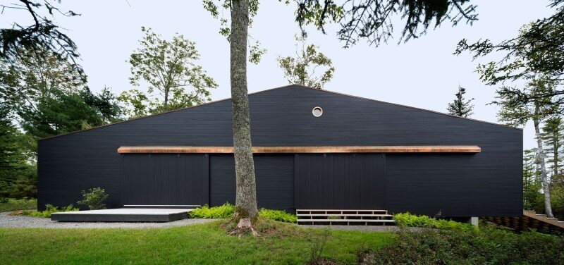 A house, boathouse, and studio structure by Andrew Berman Architect (16)