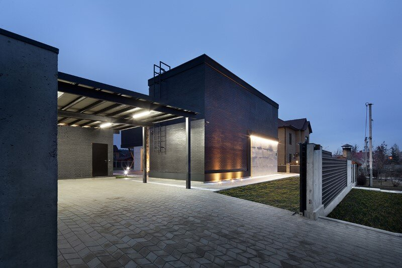 Architectural design focused on contrasts of shape and nature - Buddy's House by Sergey Makhno (3)