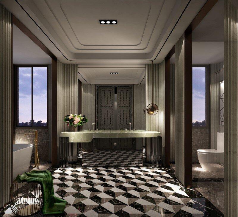 Beijing residence that embodies modern taste and traditional spirits - COSCO RuiFu (13)