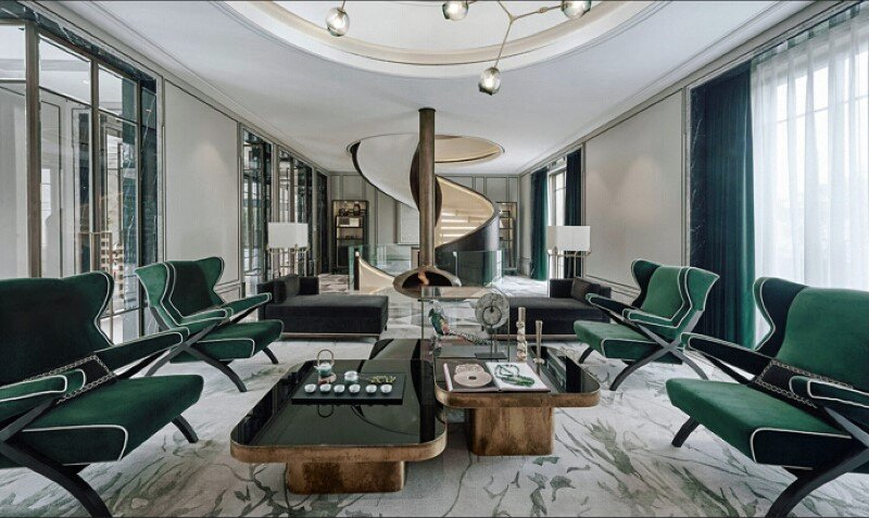 Beijing residence that embodies modern taste and traditional spirits - COSCO RuiFu (6)