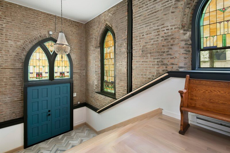 Church converted into a spacious family house (1)
