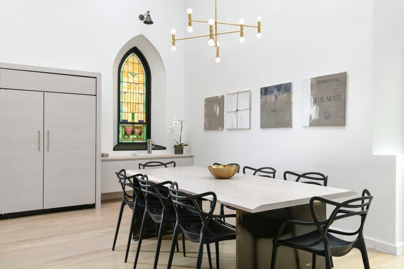 Church converted into a spacious family house (2)