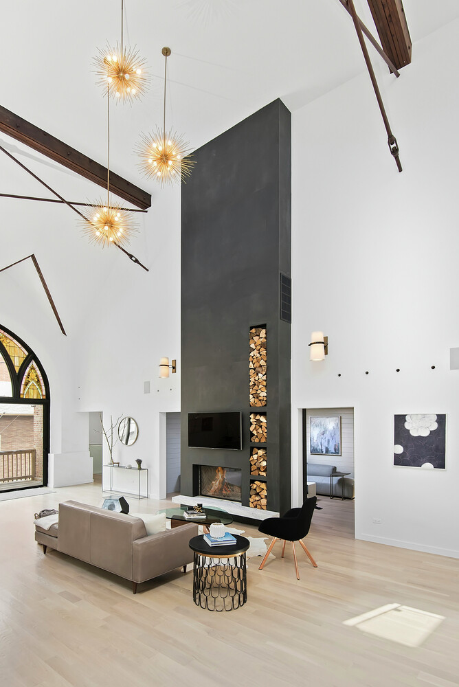 Church converted into a spacious family house (20)