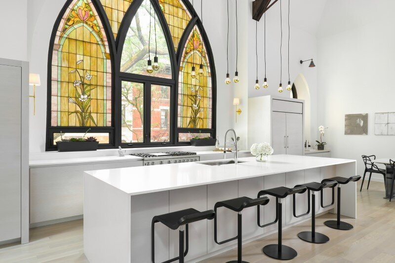 Church converted into a spacious family house (7)