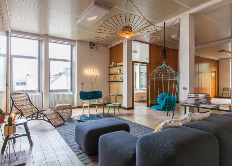 DIFT en Re-Vive present WATT, a multibrand rooftop apartment in Ghent (13)