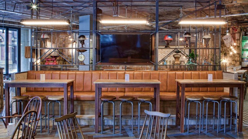 DV8 Designs has created a true rustic design in Beef and Pudding restaurant (1)