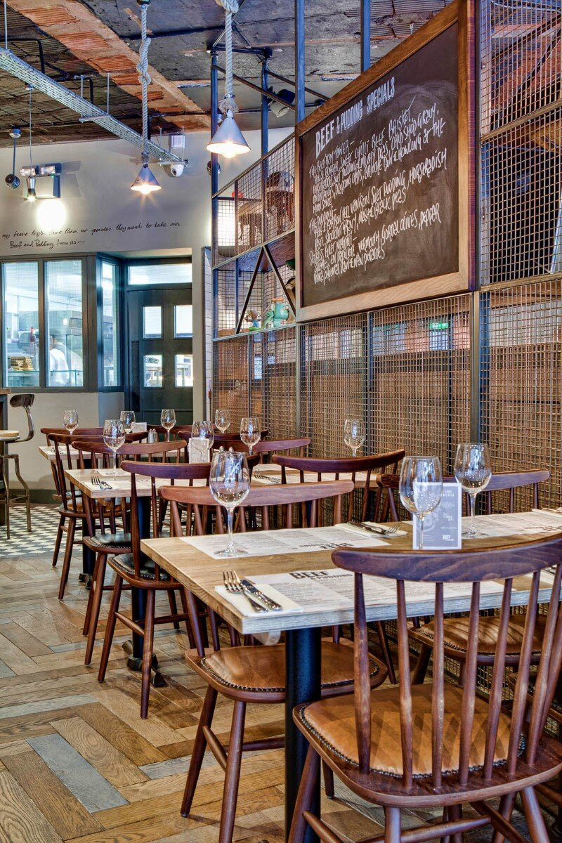 DV8 Designs has created a true rustic feel in Beef and Pudding restaurant (11)