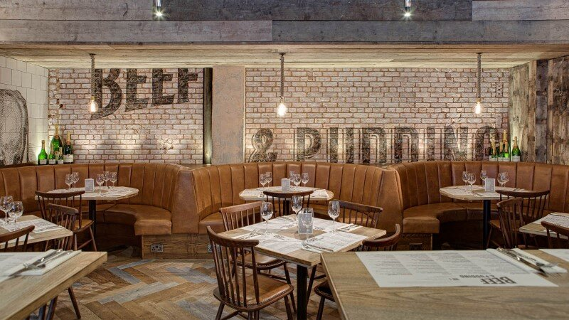 DV8 Designs has created a true rustic feel in Beef and Pudding restaurant (12)
