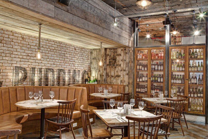 DV8 Designs has created a true rustic feel in Beef and Pudding restaurant (13)