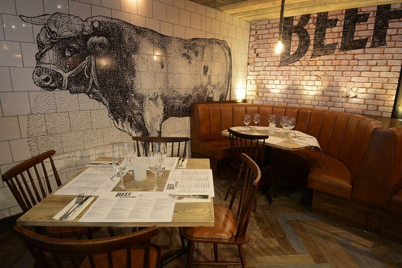 DV8 Designs has created a true rustic design in Beef and Pudding restaurant (3)