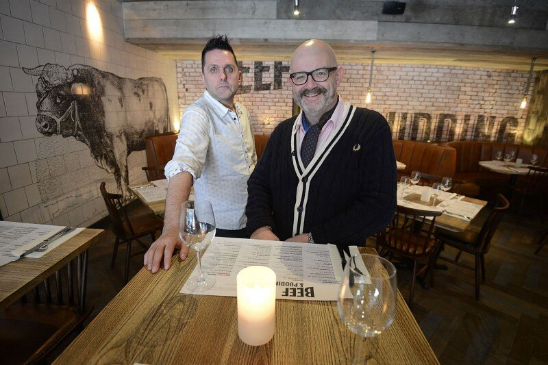 DV8 Designs has created a true rustic design in Beef and Pudding restaurant (5)