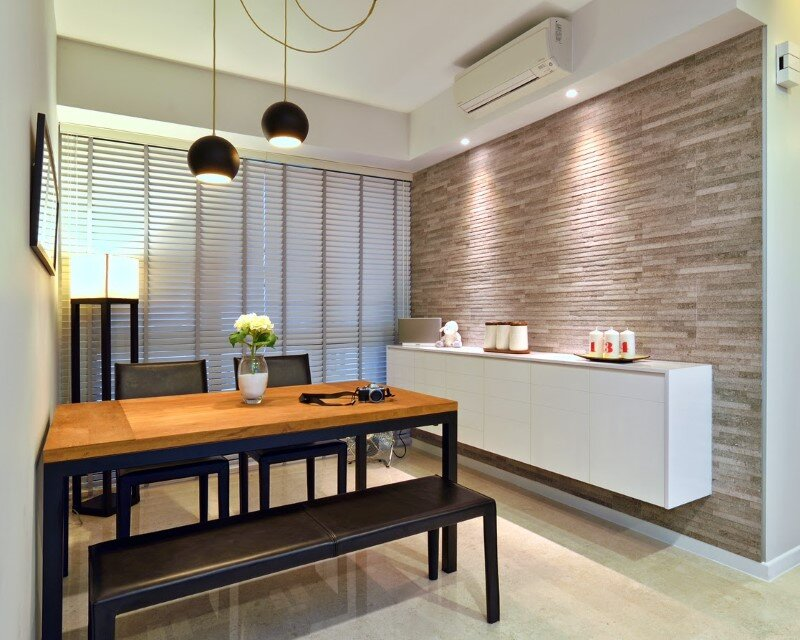 Dakota Crescent apartment earth tone, minimalist and clean design (1)
