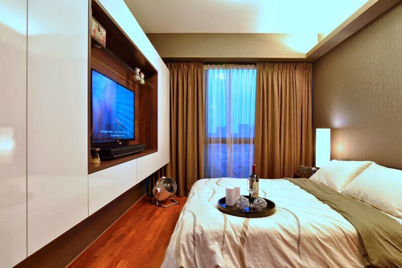Dakota Crescent apartment earth tone, minimalist and clean design (10)