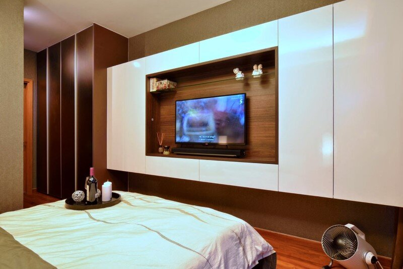 Dakota Crescent apartment earth tone, minimalist and clean design (11)