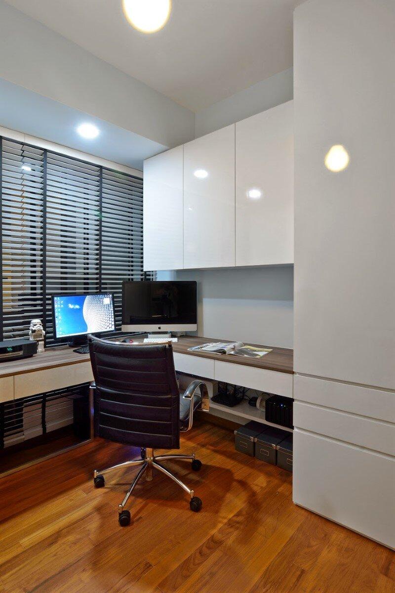 Dakota Crescent apartment earth tone, minimalist and clean design (12)