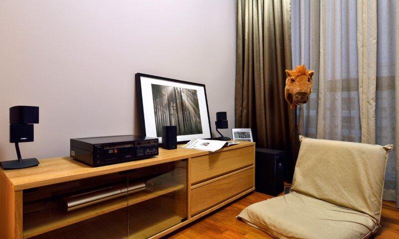 Dakota Crescent apartment earth tone, minimalist and clean design (4)