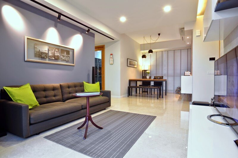 Dakota Crescent apartment earth tone minimalist and clean design