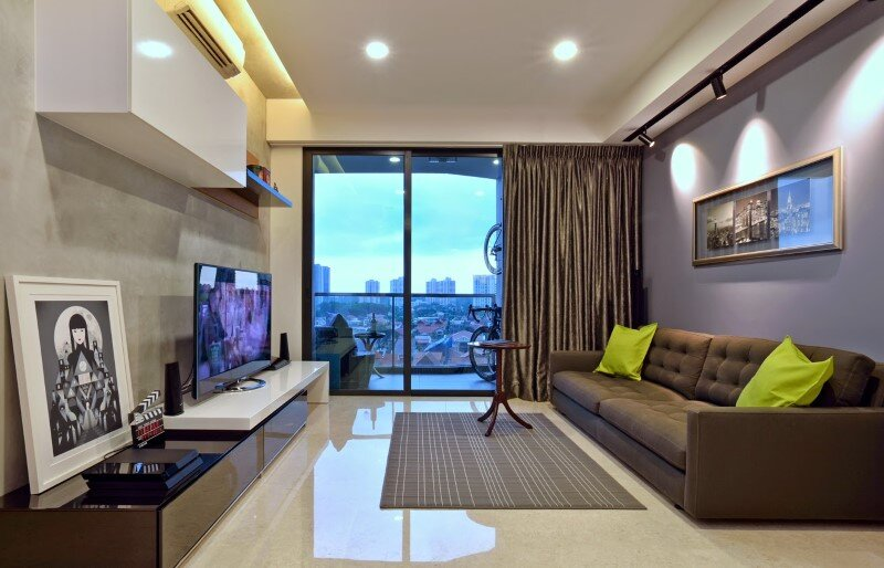 Dakota Crescent apartment earth tone, minimalist and clean design (7)