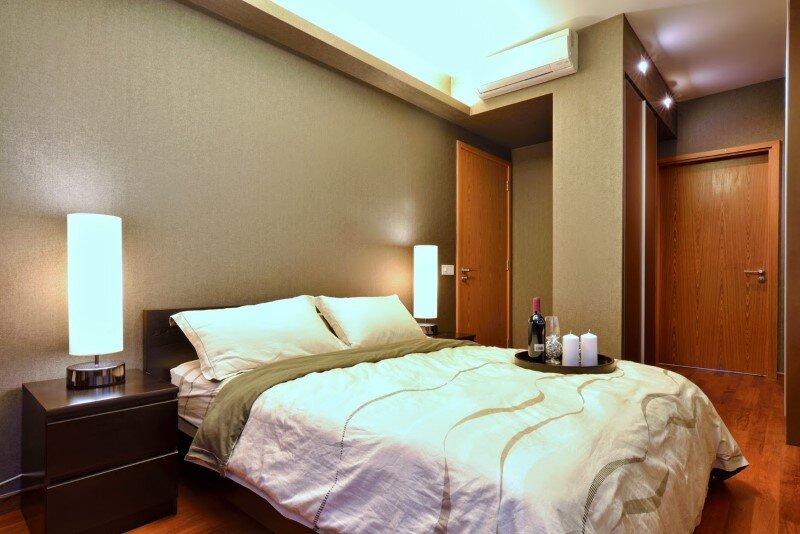 Dakota Crescent apartment earth tone, minimalist and clean design (9)