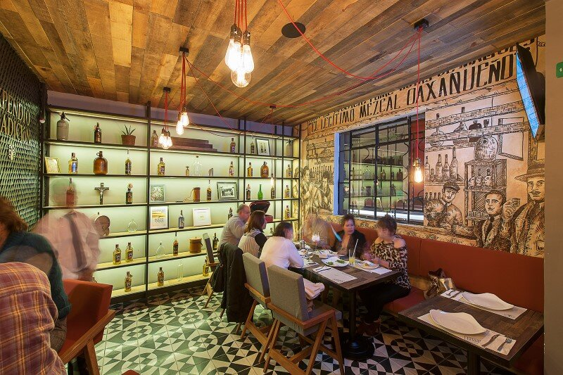 Expendio Tradicion Mezcaleria: mezcal, regional food, design and architecture