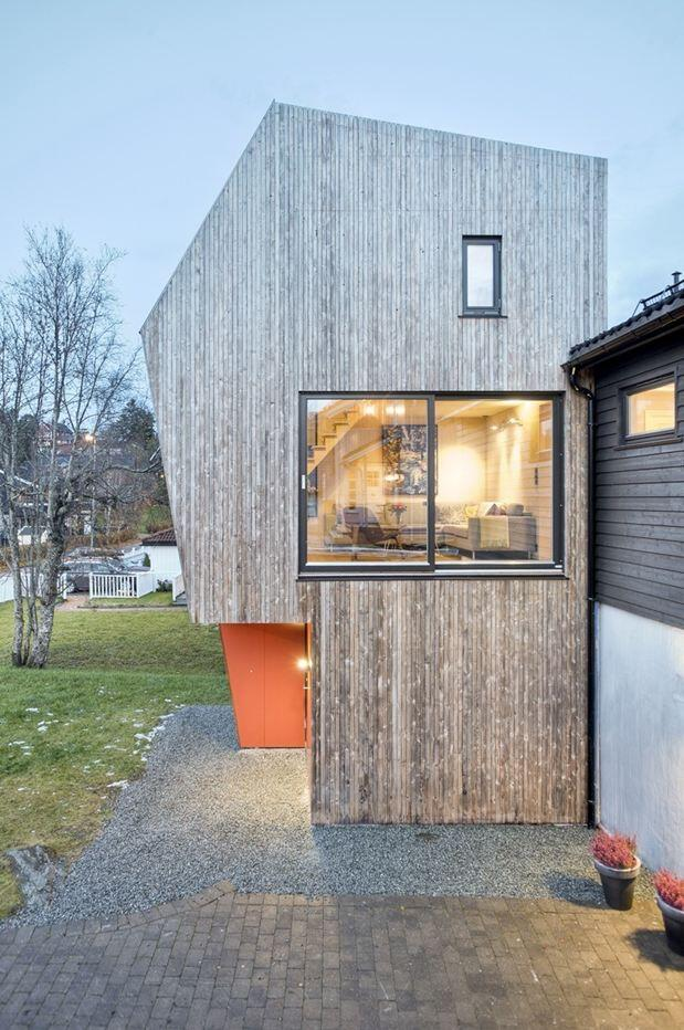 Extension of a single family house in Trondheim, Norway (14)