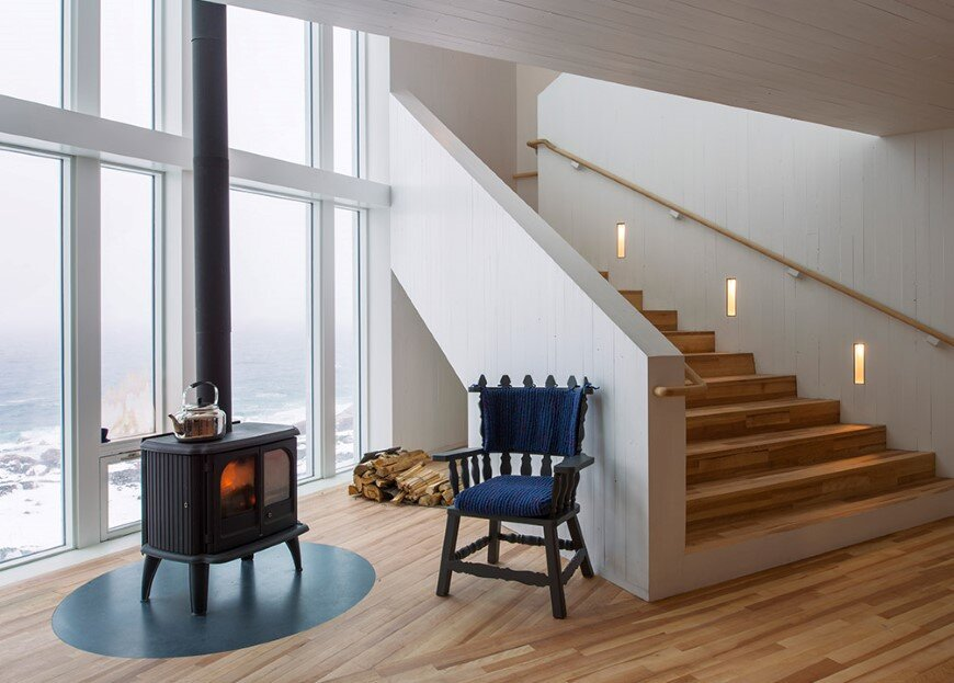Fogo Island Inn by a timeless piece of architecture by Saunders (12)