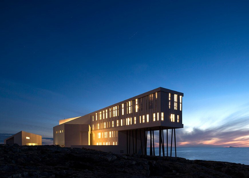 Fogo Island Inn by a timeless piece of architecture by Saunders (3)