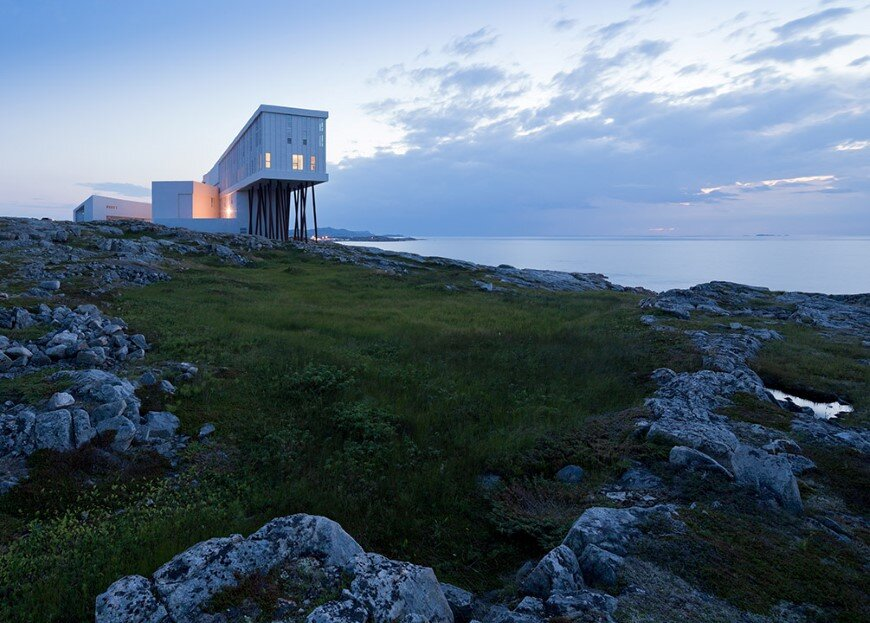 Fogo Island Inn by a timeless piece of architecture by Saunders (4)