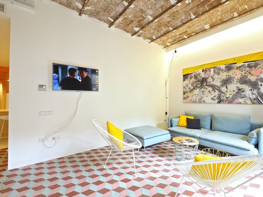 Fully renovated holiday apartment in Barcelona Tyche Apartment (3)