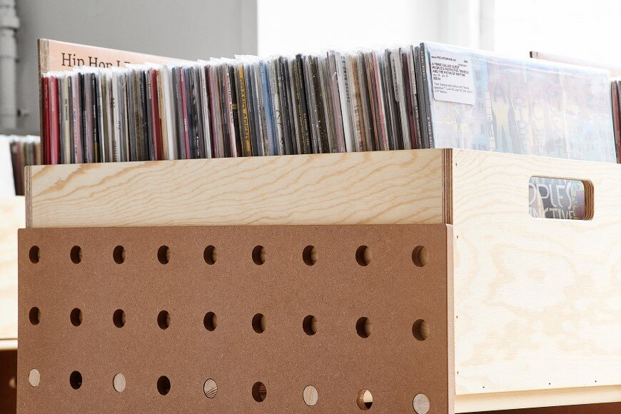 shelving system and product design for Record Mania - Bedow Design Studio (5)