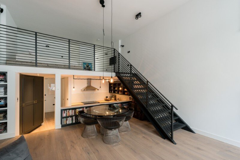 Loft apartments with an industrial factory feel - Northbourne, London (1)