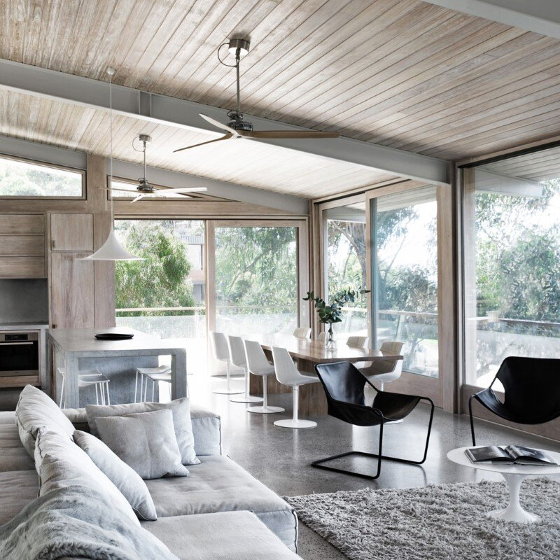 Ocean House sculpted from concrete, timber and glass (10)